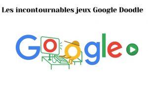 Détendez-vous avec des jeux Doodles Google