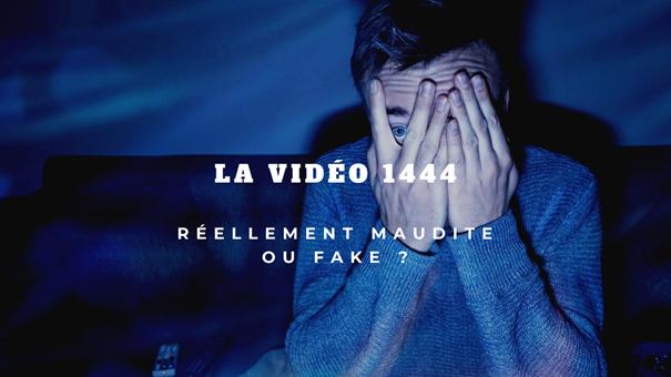 Oserez-vous regarder la vidéo maudite : Vidéo 1444 !